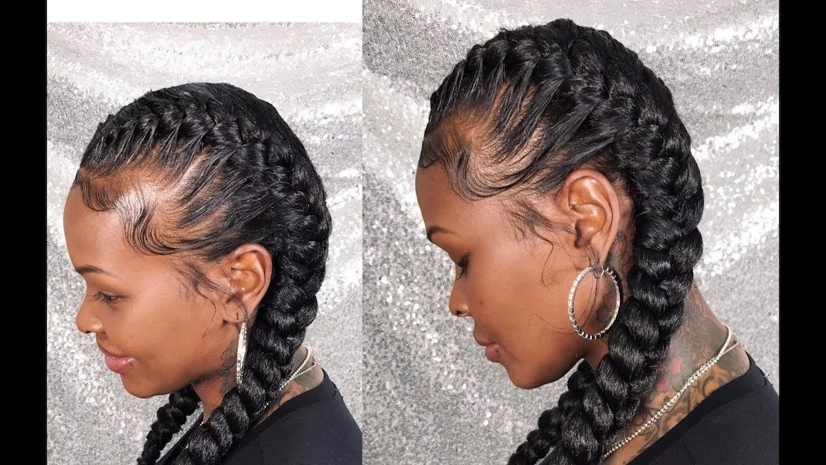 Most Up To Date Darling Bridal Hairstyles With Circular Twists Within Kenyan Hairstyles For Round Faces ▷ Tuko.co (View 16 of 20)