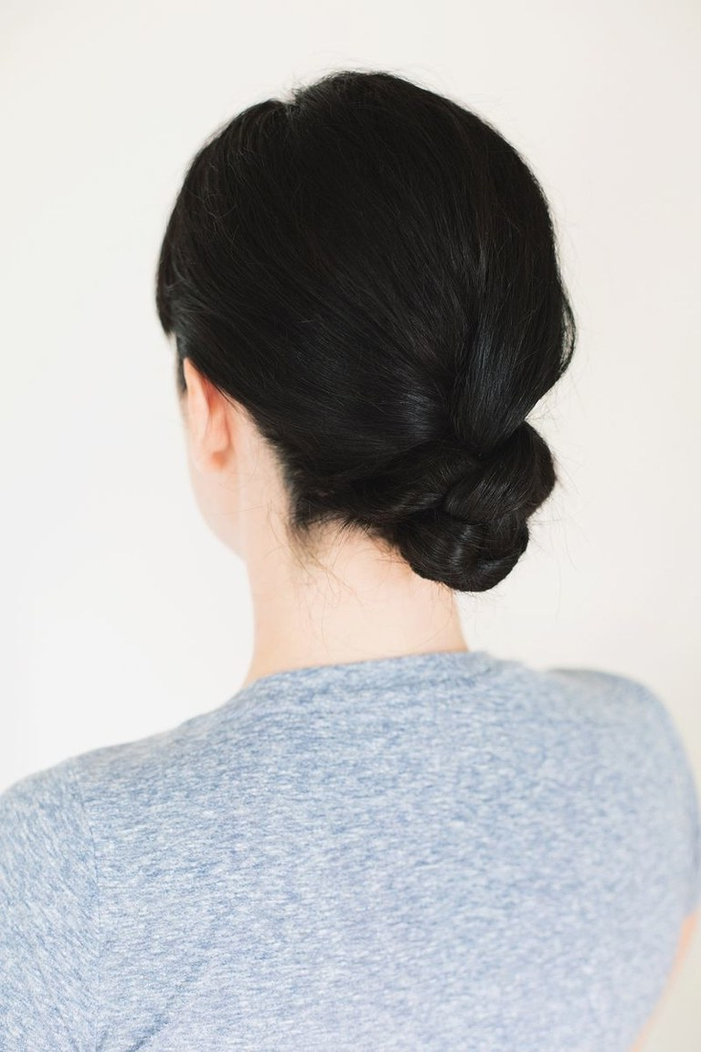 Most Up To Date Embellished Twisted Bun For Brides With 61 Braided Wedding Hairstyles (View 18 of 20)