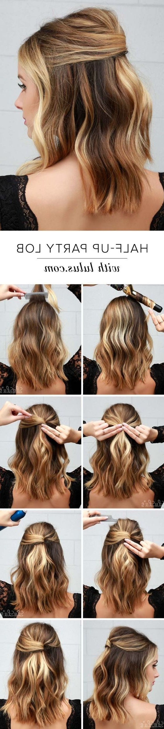 Most Up To Date Half Up Curly Hairstyles With Highlights In 75 Cute & Cool Hairstyles For Girls – For Short, Long & Medium Hair (View 15 of 20)