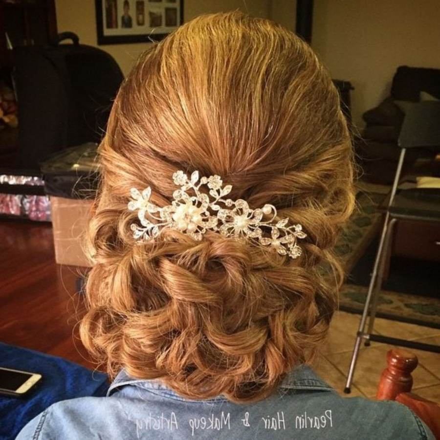 Mother Of Throughout Current Swirled Wedding Updos With Embellishment (View 14 of 20)