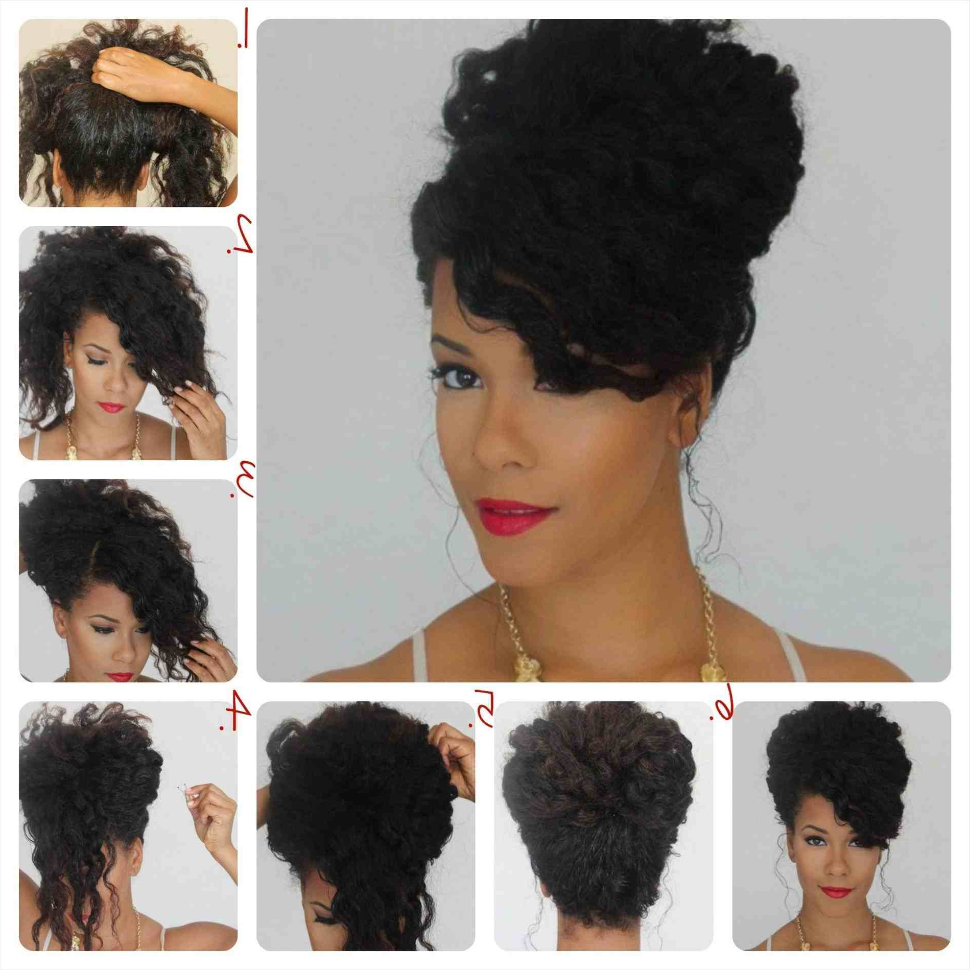 Natural Hair Updo Hairstyles For Weddings Pretty Styles For Regarding Best And Newest Curly Wedding Updos With A Bouffant (View 13 of 20)