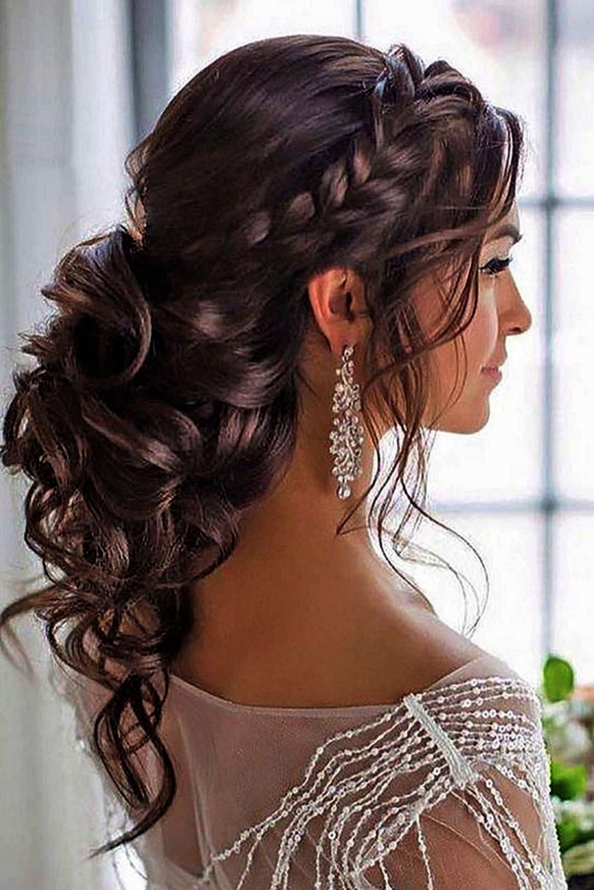 Newest Airy Curly Updos For Wedding Within Simple Hairstyles For Wedding Party Stepstep Simple Wedding (View 9 of 20)