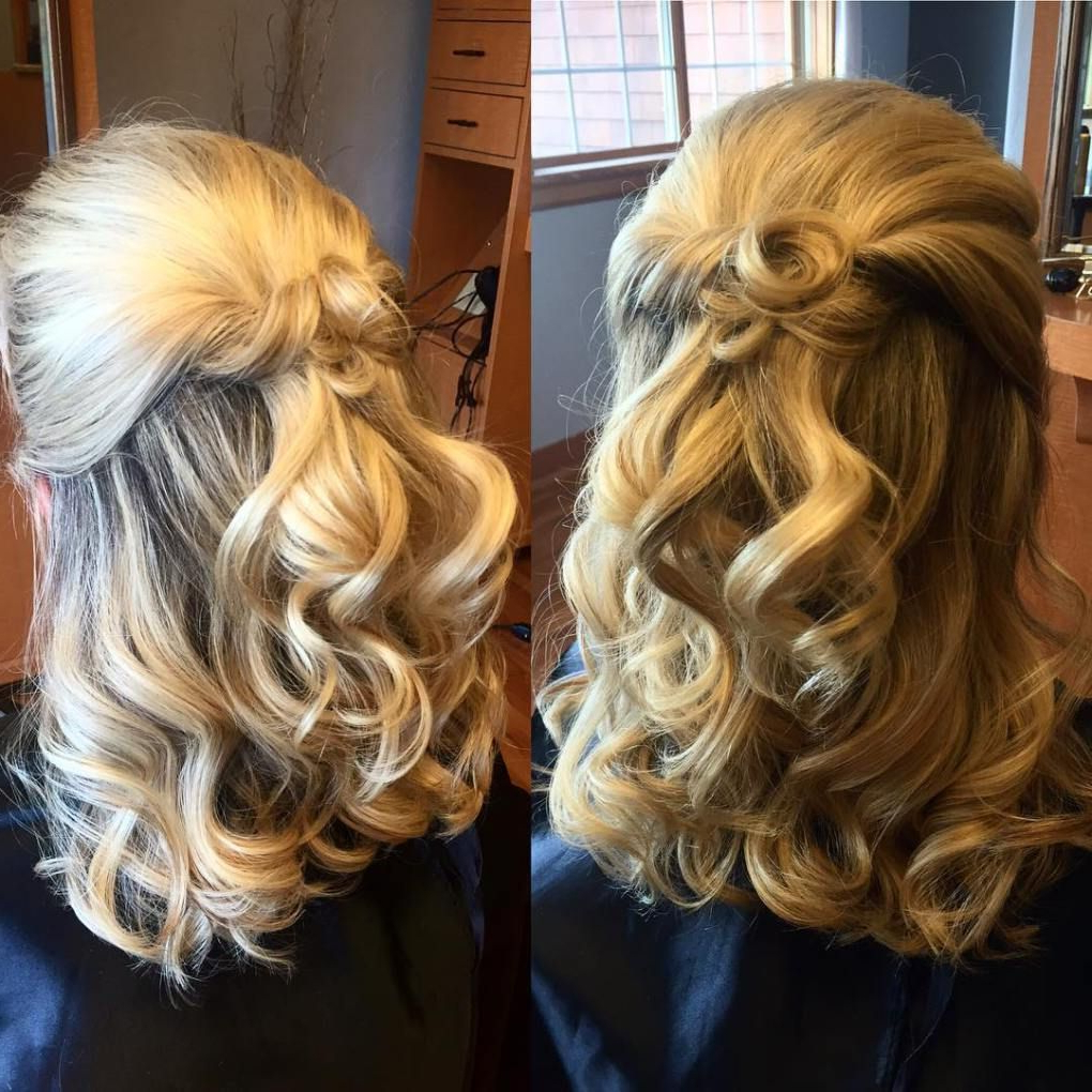 Newest Curly Blonde Updo Hairstyles For Mother Of The Bride Throughout 50 Ravishing Mother Of The Bride Hairstyles (View 11 of 20)