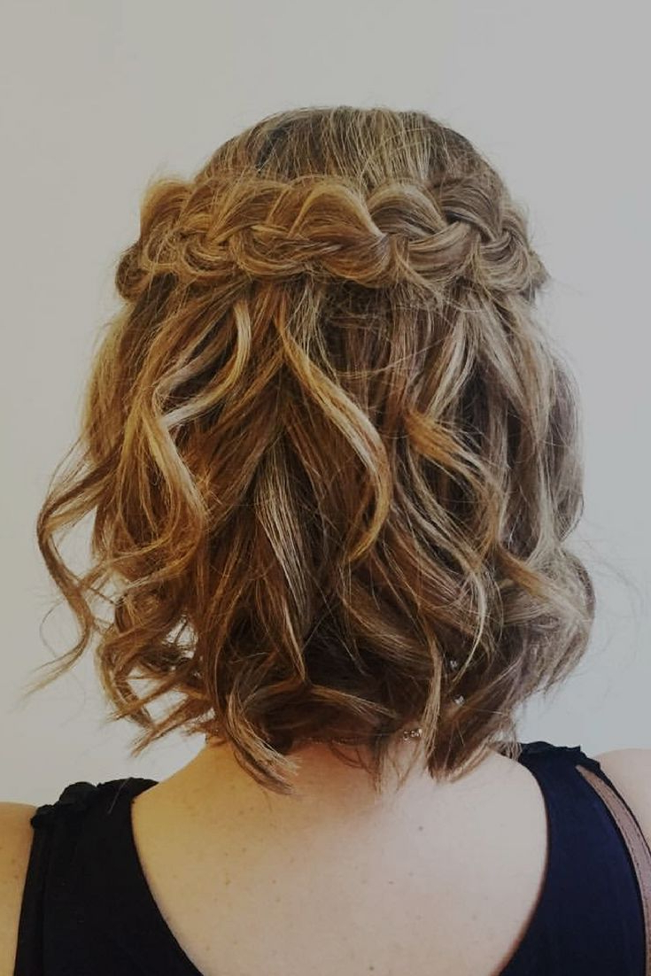 Newest Dimensional Waves In Half Up Wedding Hairstyles In Want More Dimension With Those Wedding Ready Waves? Add A Crown (View 16 of 20)