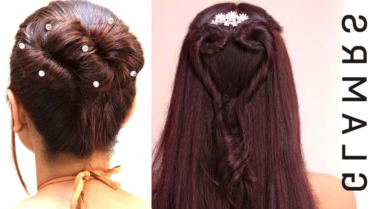 Newest Infinity Wedding Updos For Heart Bun & Infinity Bun Hairstyle (View 14 of 20)