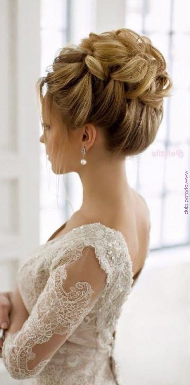 Newest Wedding Updos With Bow Design For 82 Wedding Hairstyles Updos For 2018 Updo Hairstyles For Bridesmaids (View 12 of 20)