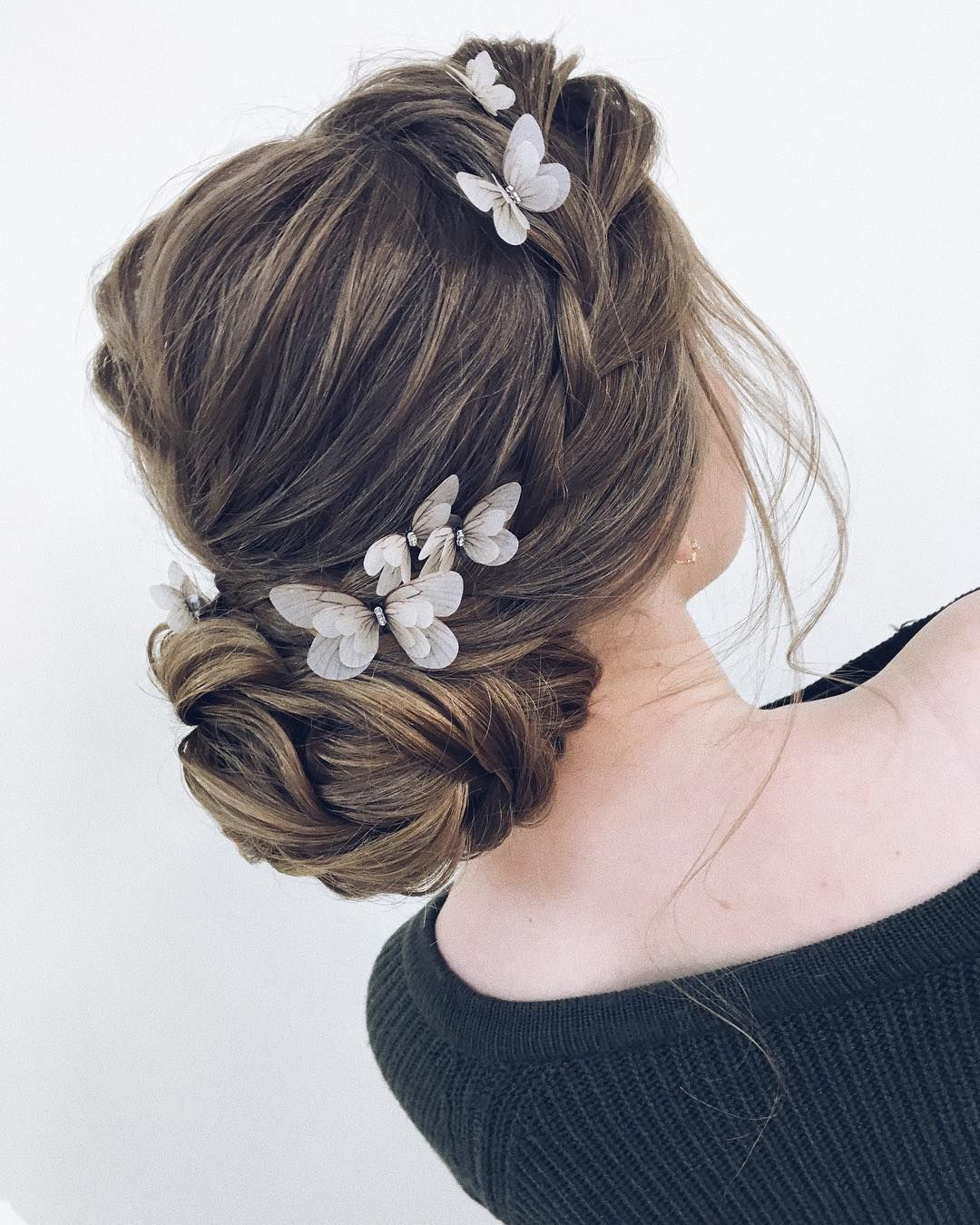 Newest Woven Updos With Tendrils For Wedding For 100 Gorgeous Wedding Hair From Ceremony To Reception (View 3 of 20)