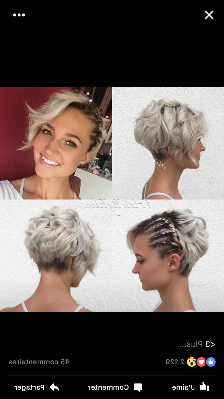 Featured Photo of Braided Bob Short Hairdo Bridal Hairstyles
