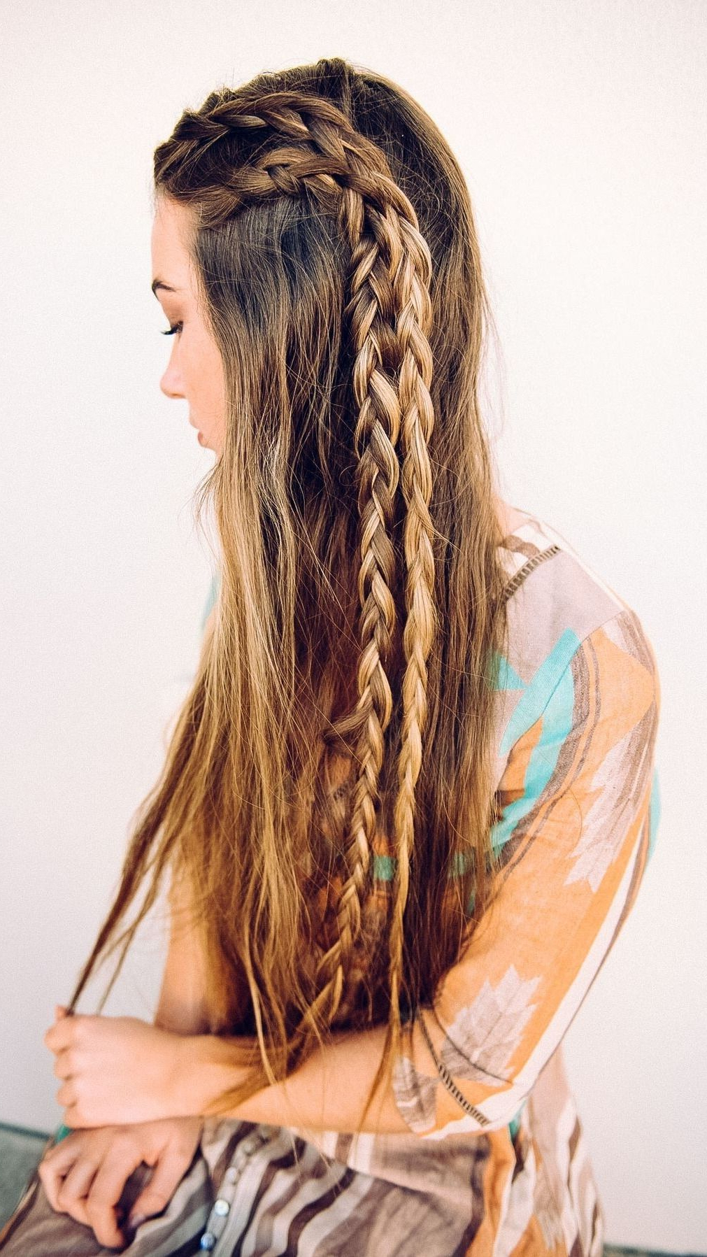 Pinterest With Favorite Bohemian And Free Spirited Bridal Hairstyles (View 18 of 20)