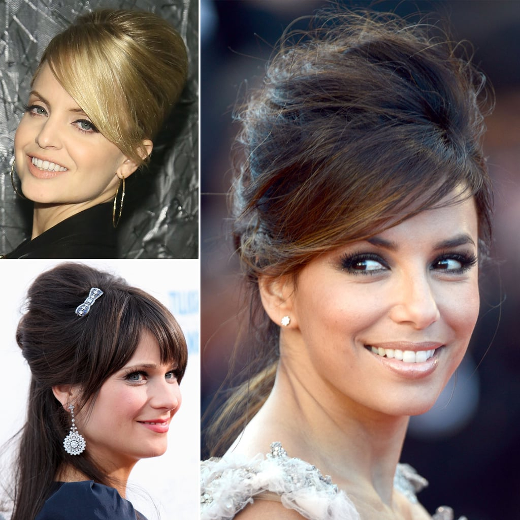 Popsugar Beauty Uk Within Latest Sleek And Voluminous Beehive Bridal Hairstyles (View 14 of 20)
