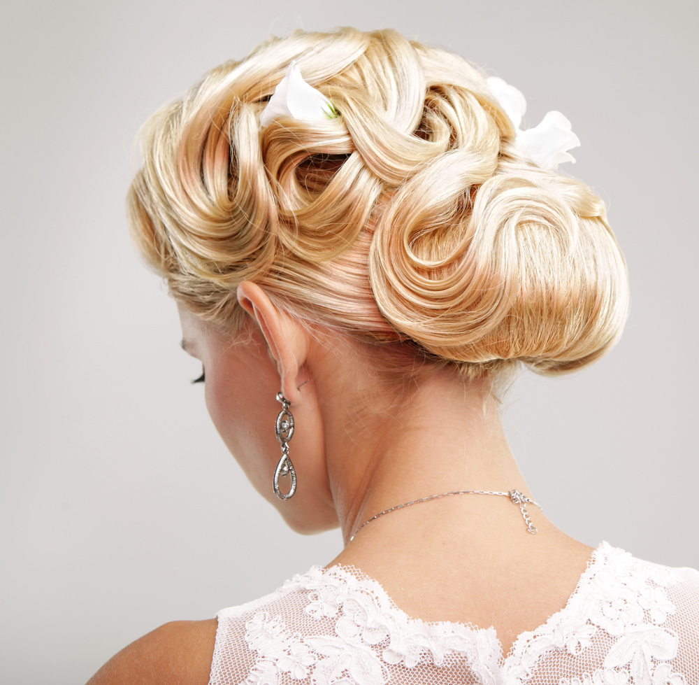 Popular Bouffant And Chignon Bridal Updos For Long Hair For 75 Stunning Wedding Hairstyles For Women In 2019 (Gallery 18 of 20)