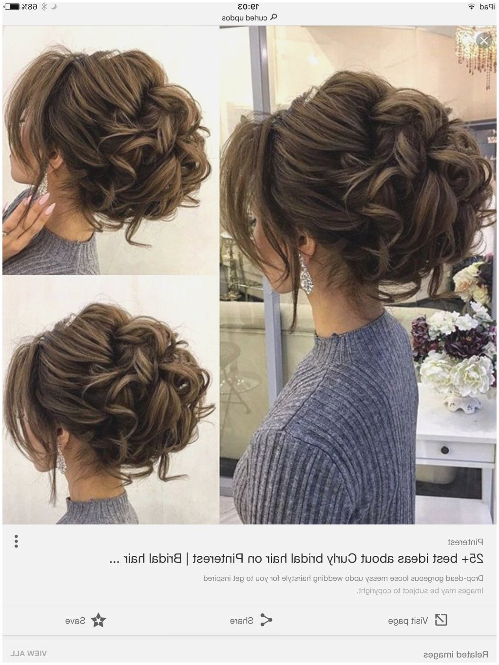 Popular Loose Curls Hairstyles For Wedding Pertaining To Easy Wavy Hairstyles Updo 965  Wavy Hair (View 11 of 20)
