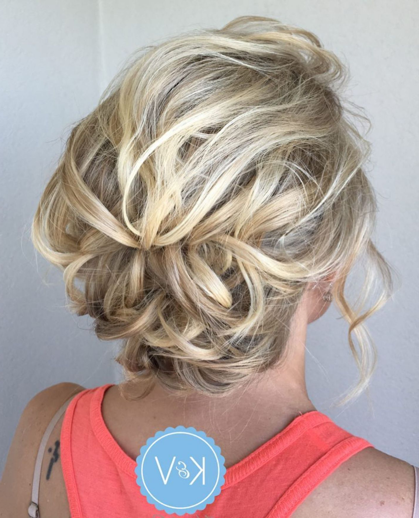Popular Short Spiral Waves Hairstyles For Brides Intended For 60 Creative Updo Ideas For Short Hair In  (View 13 of 20)