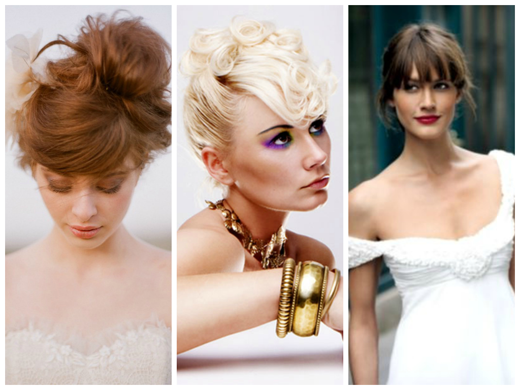 Popular Wedding Hairstyles With Bangs – Women Hairstyles Inside Favorite Bold Blonde Bun Bridal Updos (View 13 of 20)