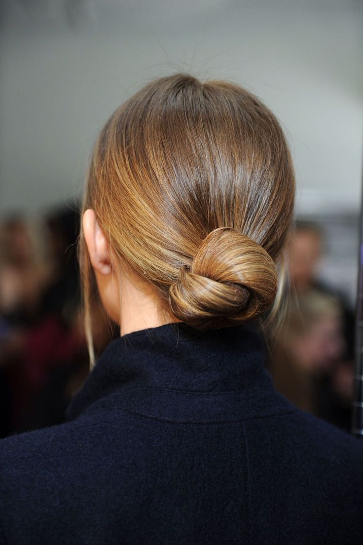 Preferred Chic And Sophisticated Chignon Hairstyles For Wedding In Minimal + Chic (View 13 of 20)