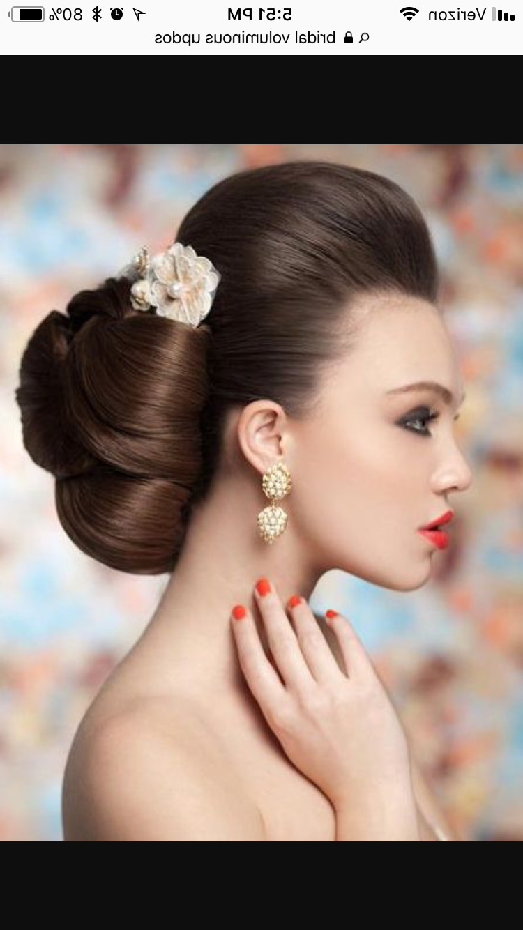 Preferred Sleek And Voluminous Beehive Bridal Hairstyles Within Pinamy Irvine On Hair Style Ideas For Mikes Chrissy Show (View 7 of 20)