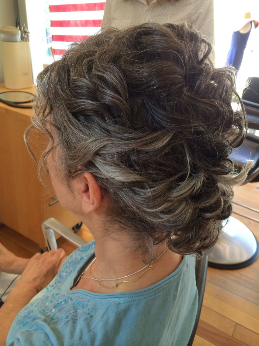 Recent Messy Woven Updo Hairstyles For Mother Of The Bride With Regard To Mother Of The Bride Hairstyle (View 16 of 20)