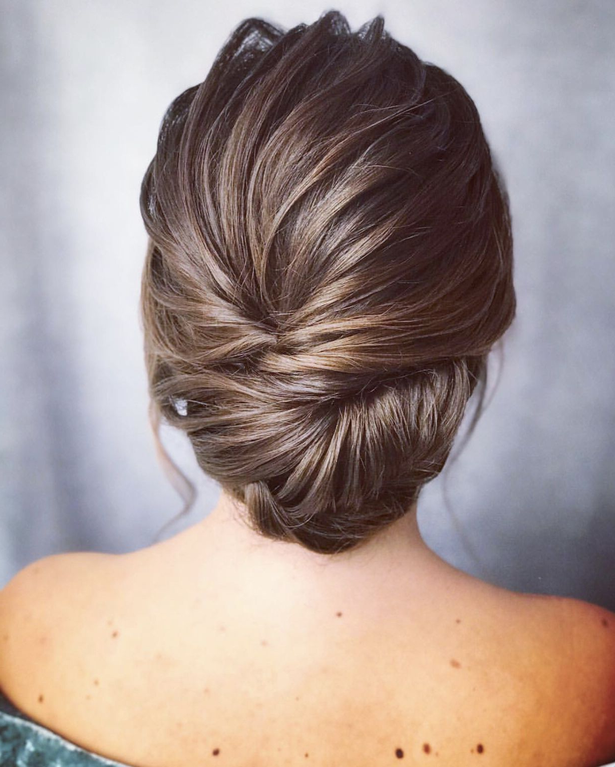 Recent Sophisticated Pulled Back Cascade Bridal Hairstyles For Wedding Hair Style, Brunette Hair Style, Wedding Hair, Sophisticated (View 11 of 20)