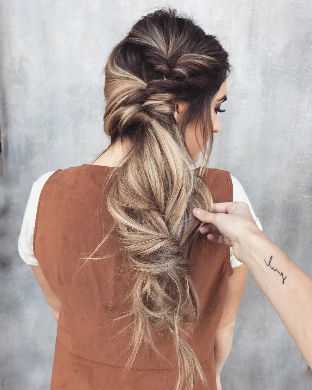 Recent White Blonde Twisted Hairdos For Wedding In 10 Messy Braided Long Hairstyle Ideas For Weddings & Vacations (View 17 of 20)