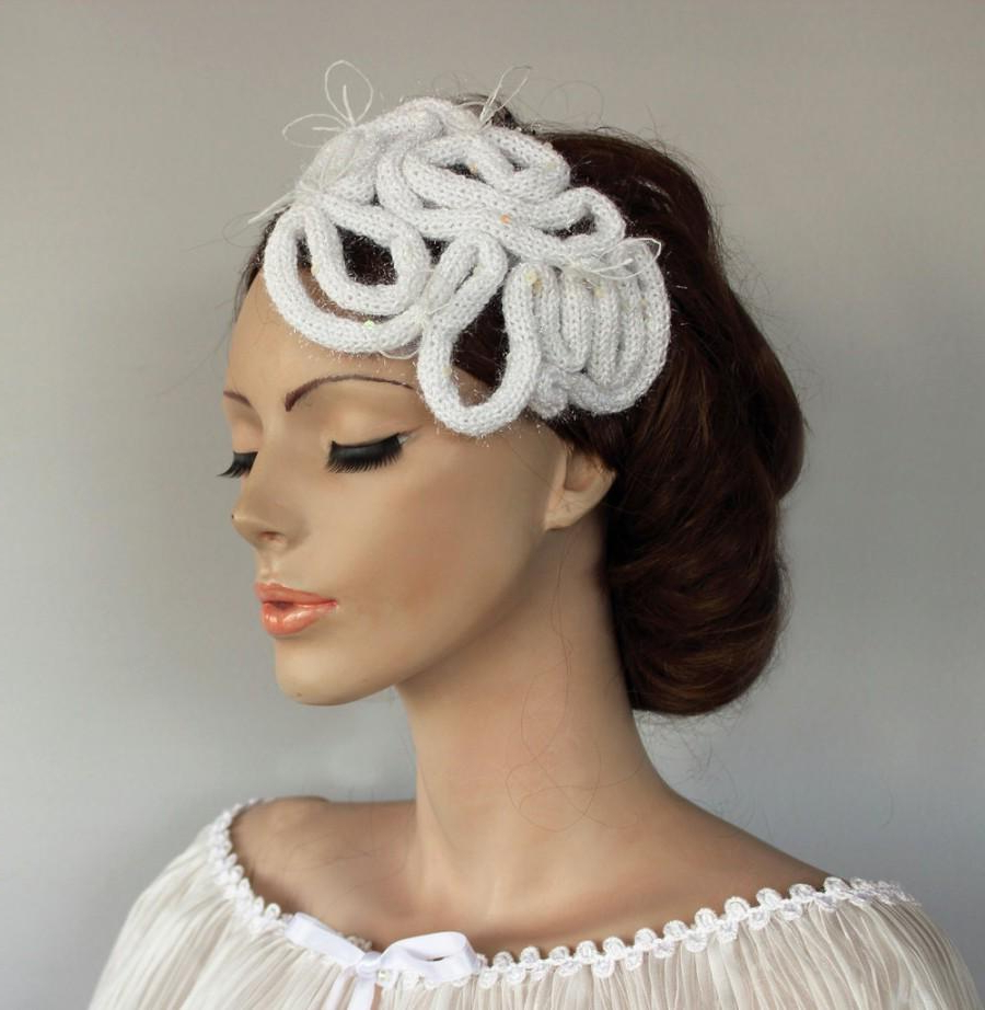 Retro Wedding Mini Hat Fascinator Headdress Bridal Headpiece Throughout Most Recent Retro Glam Wedding Hairstyles (View 15 of 20)