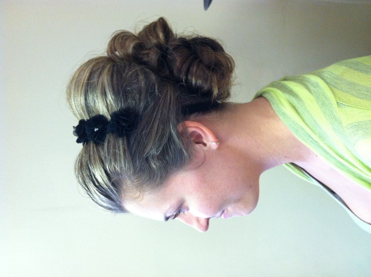Side View, Beautiful! Worklynne. #wedding #updo #bun #bow Inside Well Known Wedding Updos With Bow Design (Gallery 13 of 20)