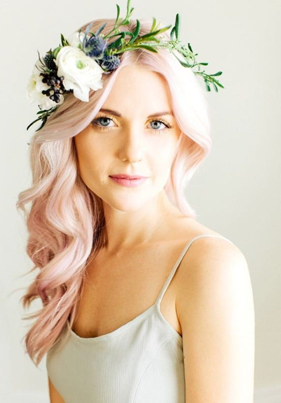 Simple And Stunning Ways To Wear Flowers In Your Hair (View 14 of 20)