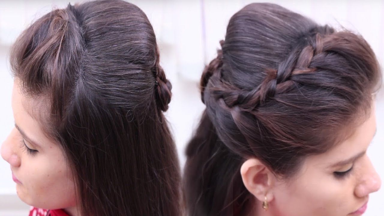 Simple & Easy Inside Well Liked Simplified Waterfall Braid Wedding Hairstyles (View 3 of 20)