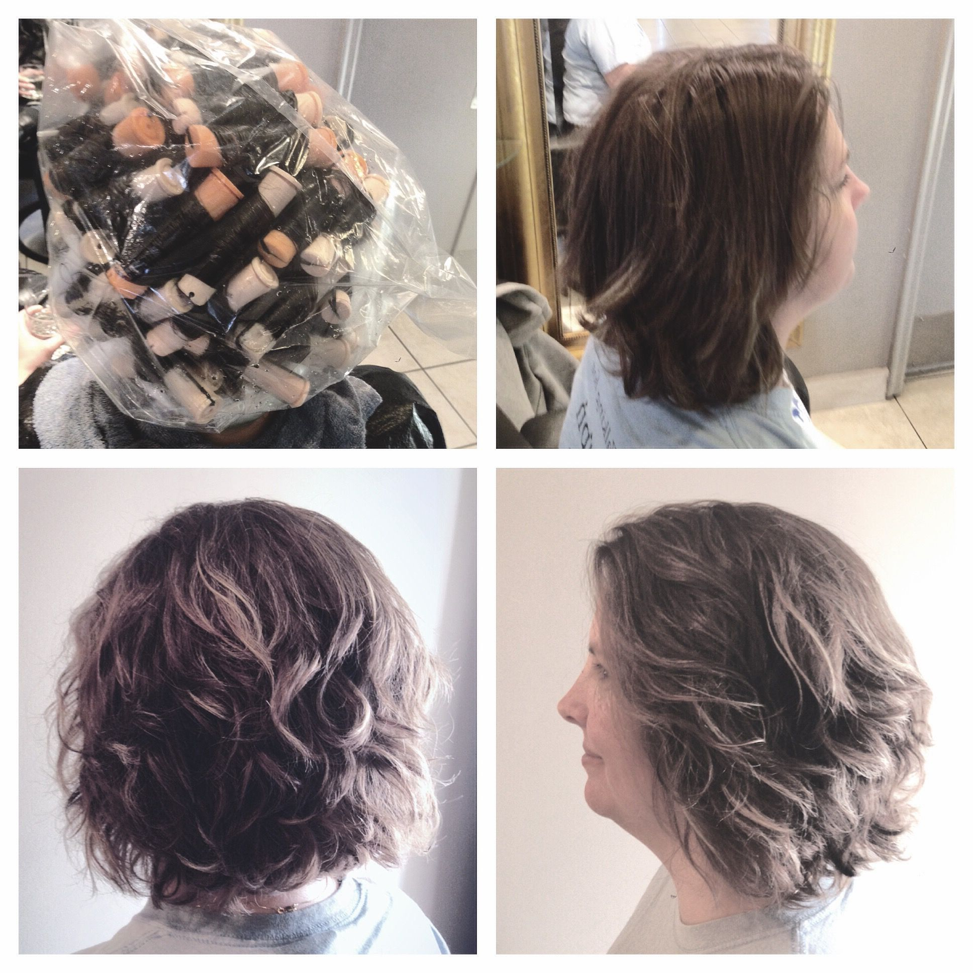 Spiral Perm On A Bob // Body Wave (View 6 of 20)