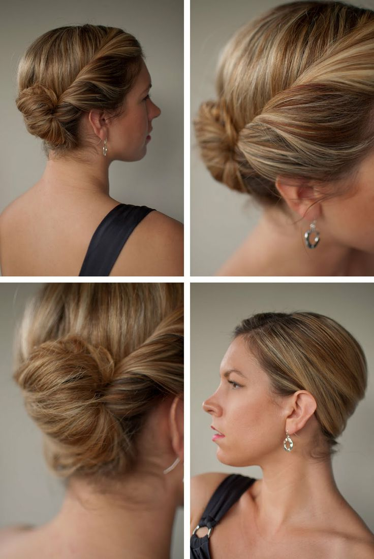 Styles Weekly Inside Current Sleek French Knot Hairstyles With Curls (Gallery 17 of 20)