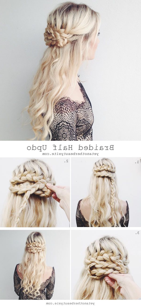 Super Easy Diy Braided Hairstyles For Wedding Tutorials (Gallery 17 of 20)