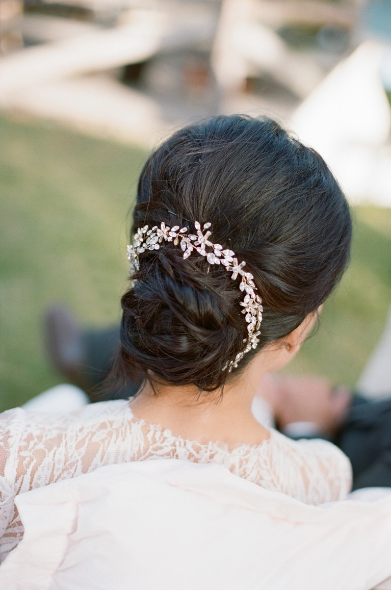 The 60 Prettiest Bridal Hairstyles From Real Weddings (View 18 of 20)