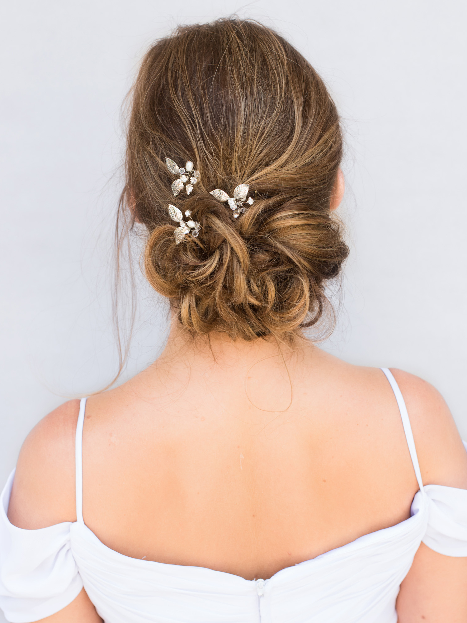 Trendy Chignon Wedding Hairstyles With Pinned Up Embellishment Within Top 10 Tips For Choosing Your Bridal Hair Accessories – Hair Comes (View 6 of 20)