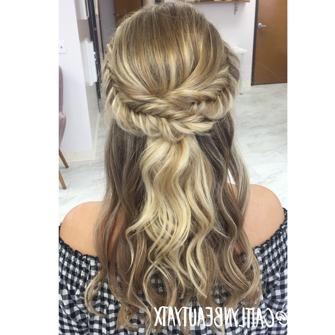Featured Photo of French Braided Halfdo Bridal Hairstyles
