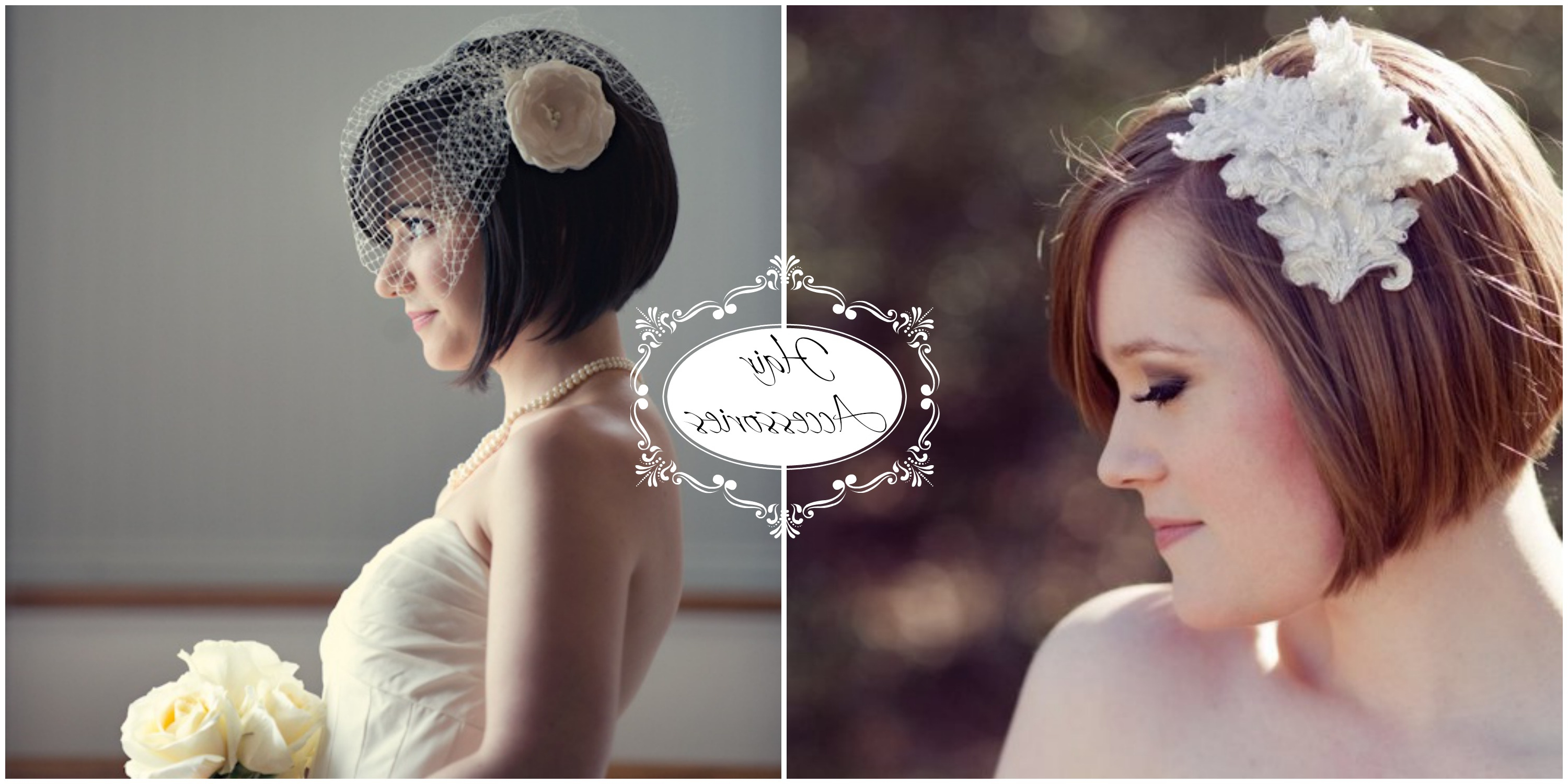 Trendy Short Wedding Hairstyles With Vintage Curls In Wedding Styles For Short Hair • Re Salon & Med Spa • Charlotte, Nc (Gallery 16 of 20)