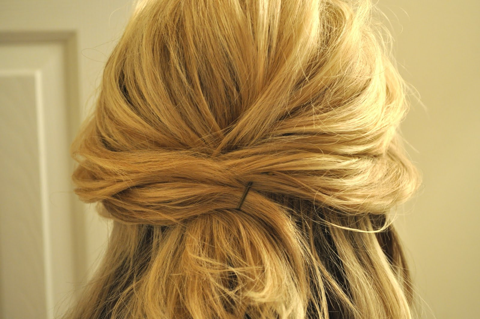 Trendy Twisted And Pinned Half Up Wedding Hairstyles Inside Half Up To Full Updo – The Small Things Blog (View 19 of 20)