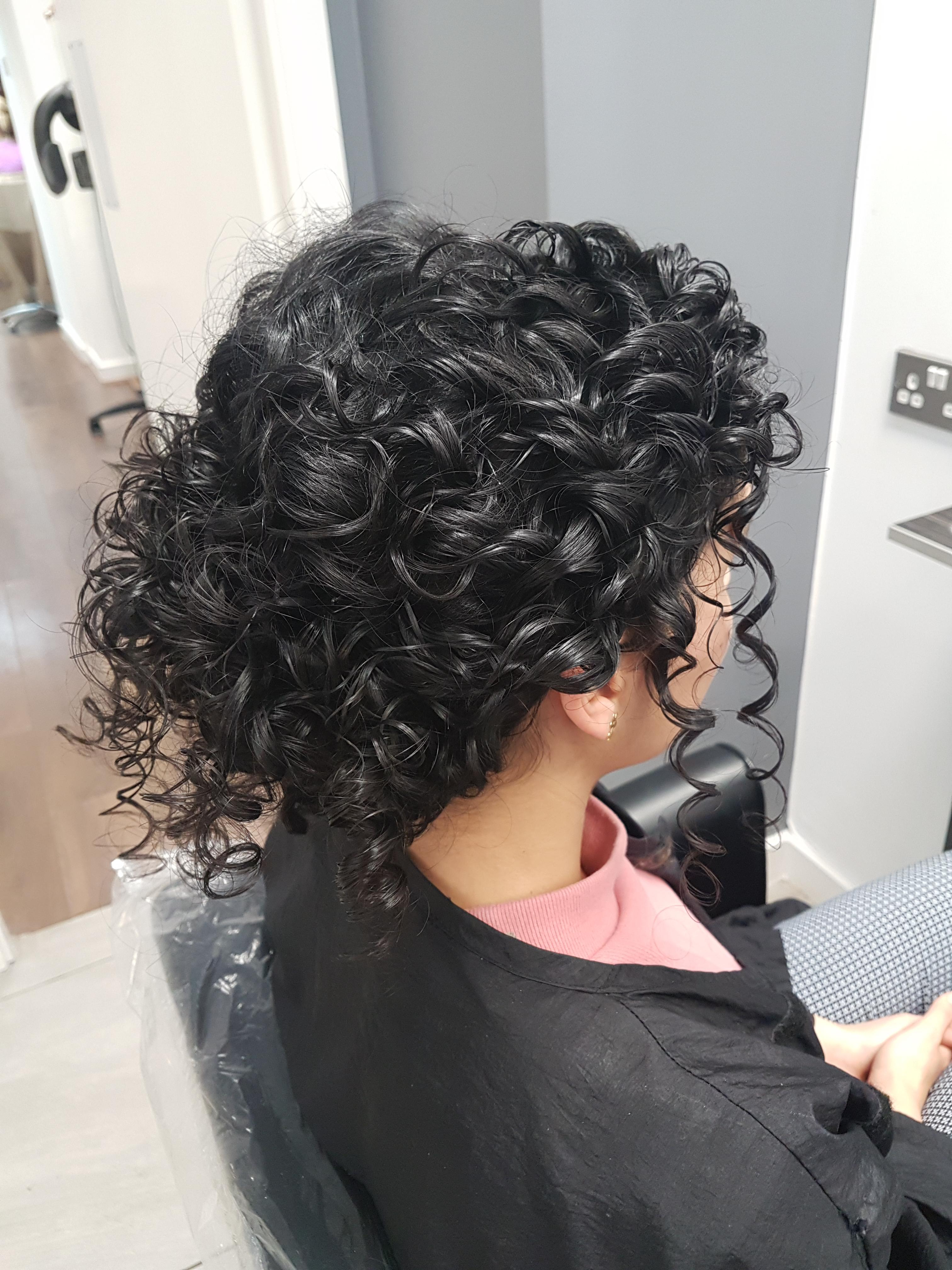 Trying Out A Natural Curly Hair Style For My Wedding! : Curlyhair With Newest Naturally Curly Wedding Hairstyles (View 8 of 20)