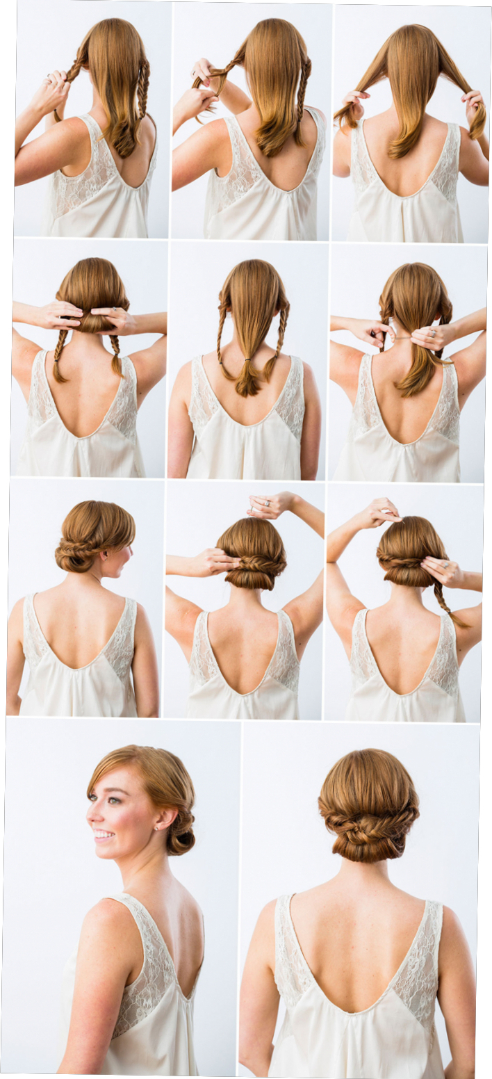 Tulle & Chantilly For Widely Used Sleek And Simple Wedding Hairstyles (View 7 of 20)