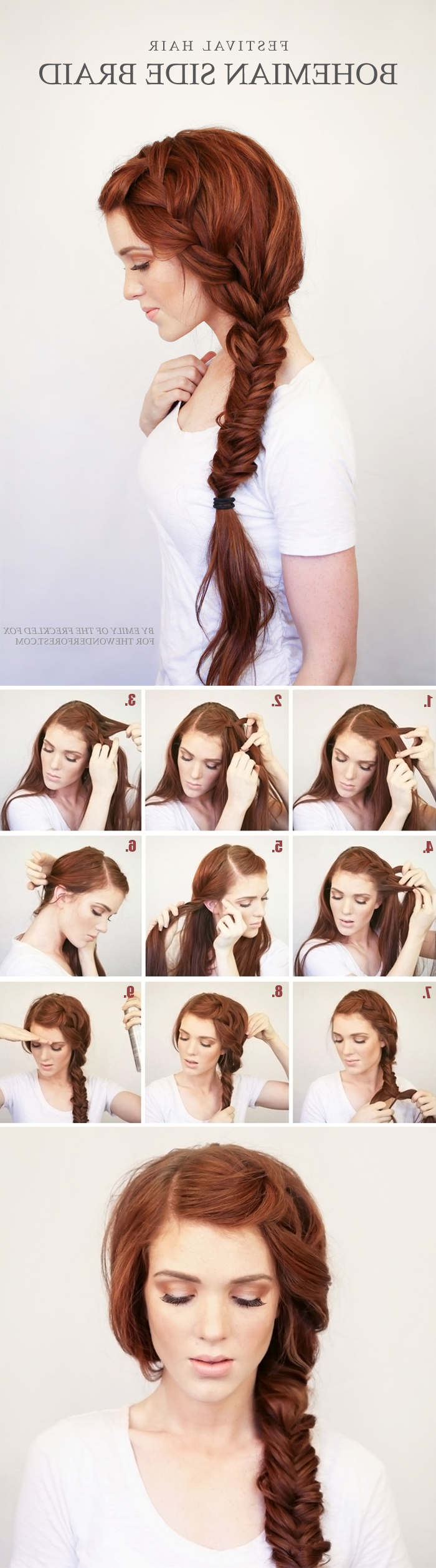 Tulle & Chantilly Intended For 2018 Short Side Braid Bridal Hairstyles (View 17 of 20)