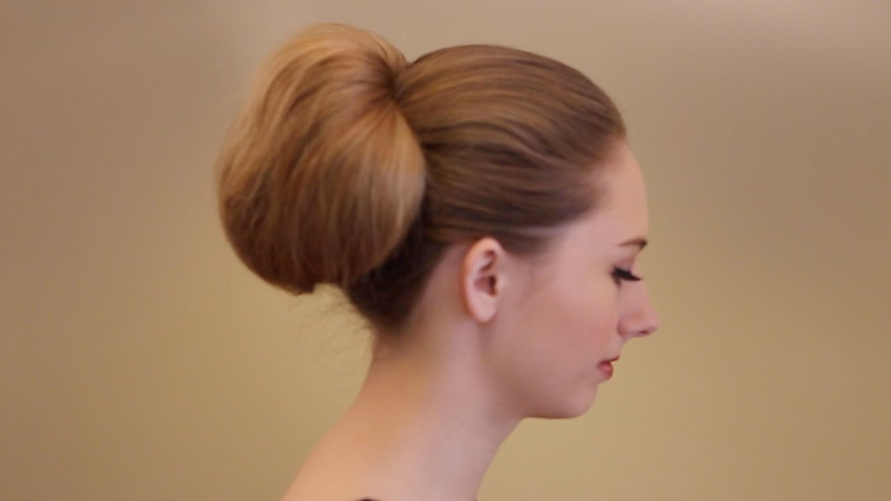 Tutorial: How To Create A Vintage Inspired Bouffant Ponytail – Youtube For Best And Newest Retro Wedding Hair Updos With Small Bouffant (Gallery 15 of 20)