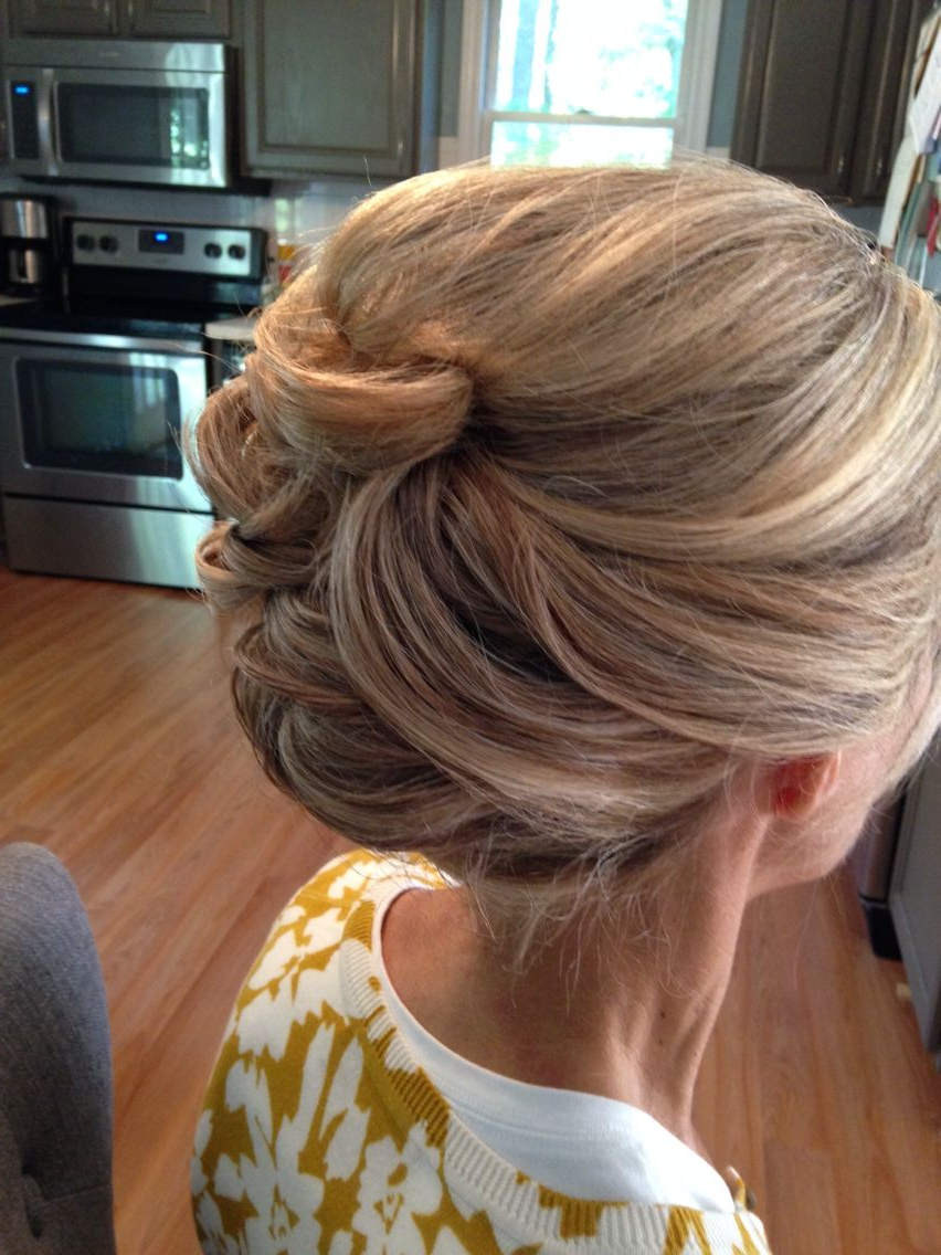 Updos, Formal Hair, Wedding Hairstyles Intended For 2017 Blonde And Bubbly Hairstyles For Wedding (Gallery 1 of 20)