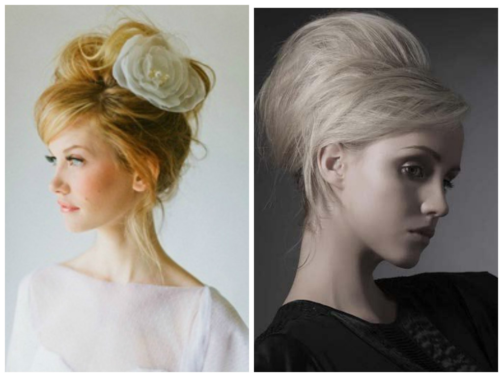 Vintage Hairstyles That Match Your Vintage Dress – Hair World Magazine In Well Liked Curly Wedding Updos With A Bouffant (Gallery 9 of 20)