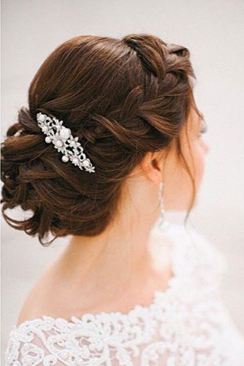 Vintage Wedding With Most Up To Date Vintage Asymmetrical Wedding Hairstyles (View 15 of 20)