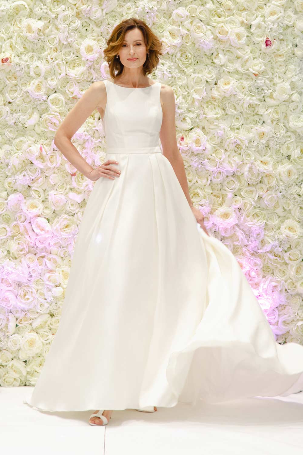 Wedding Dresses For Older Brides: Top Tips And 21 Gorgeous Designs With Regard To Most Recent Sleek And Big Princess Ball Gown Updos For Brides (View 15 of 20)