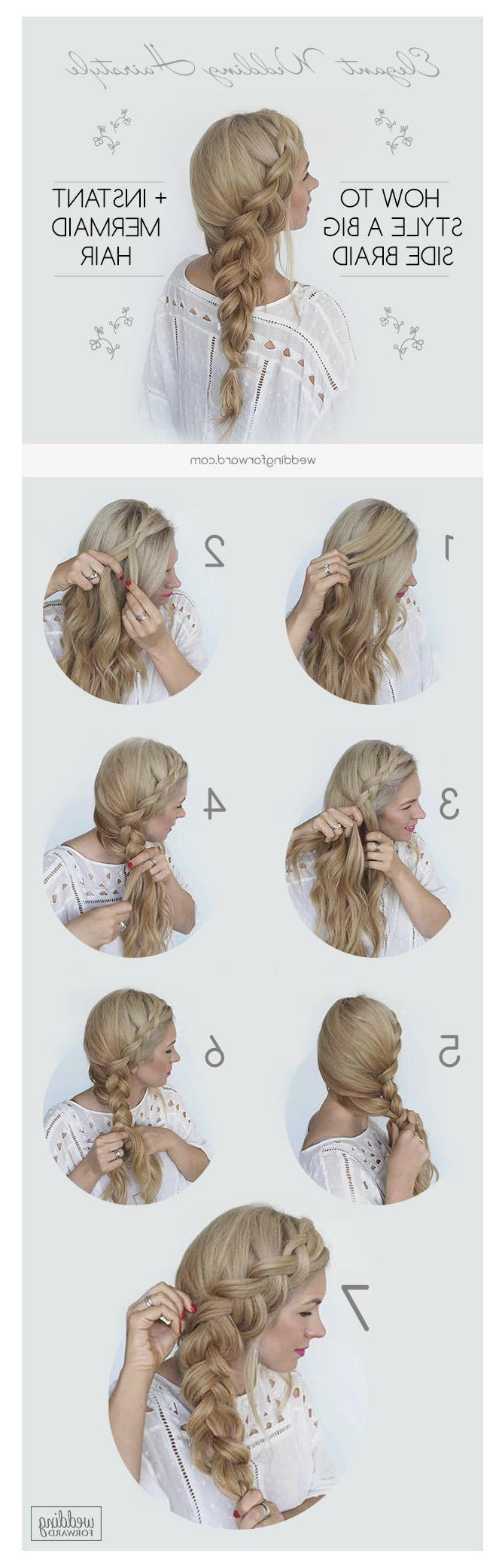 Wedding Forward In Recent Curly Ponytail Wedding Hairstyles For Long Hair (View 20 of 20)
