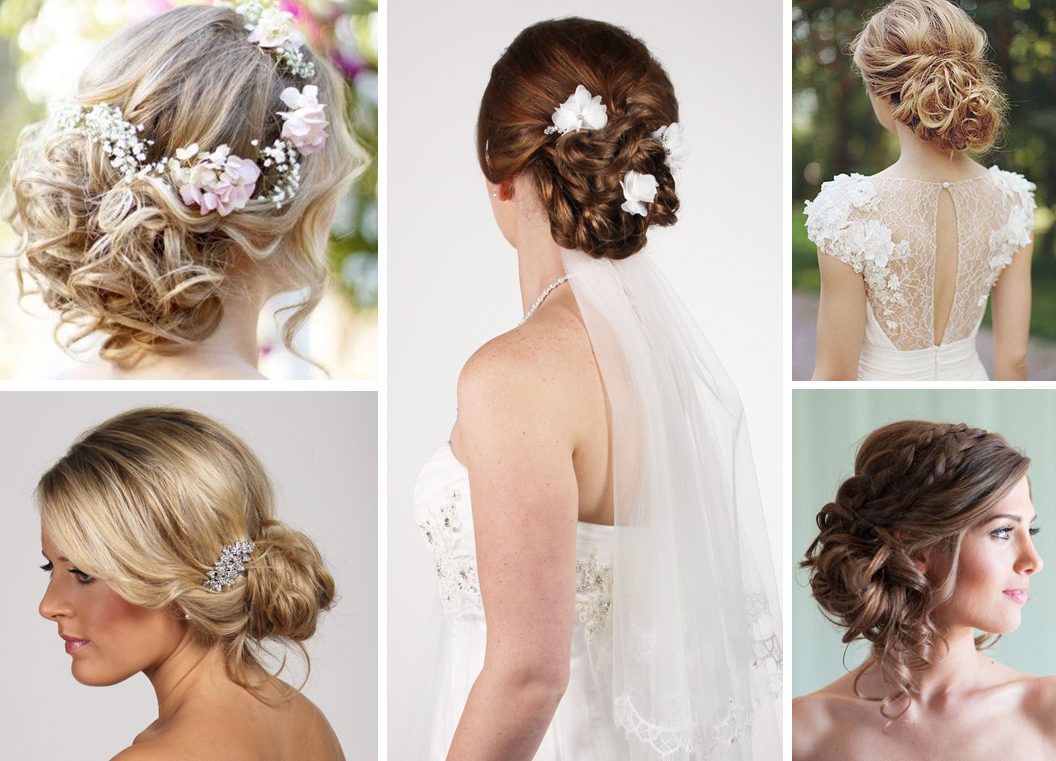 Wedding Hair Ideas For Long Hair – Richard Designs In Best And Newest Bridal Chignon Hairstyles With Headband And Veil (View 18 of 20)