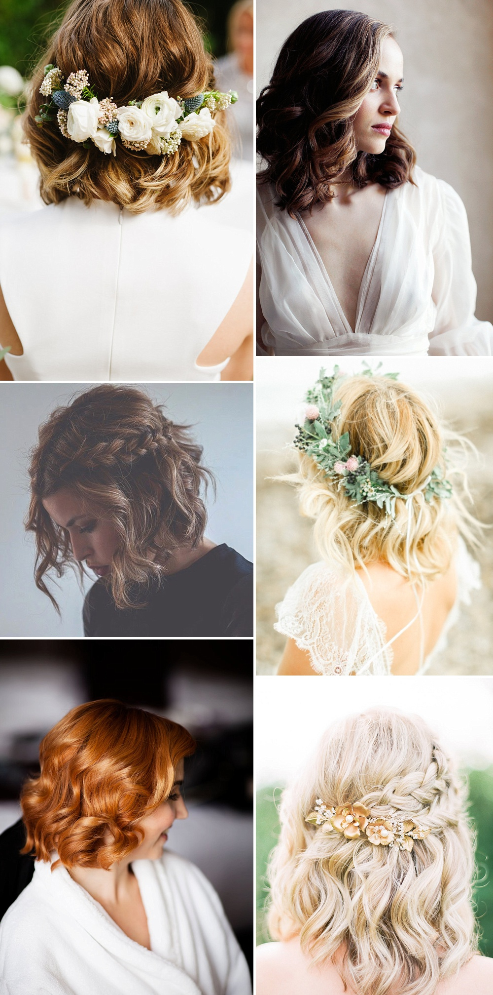 Wedding Hair Ideas For Stylish Brides & Trends For 2017 In Well Known Short And Sweet Hairstyles For Wedding (Gallery 6 of 20)