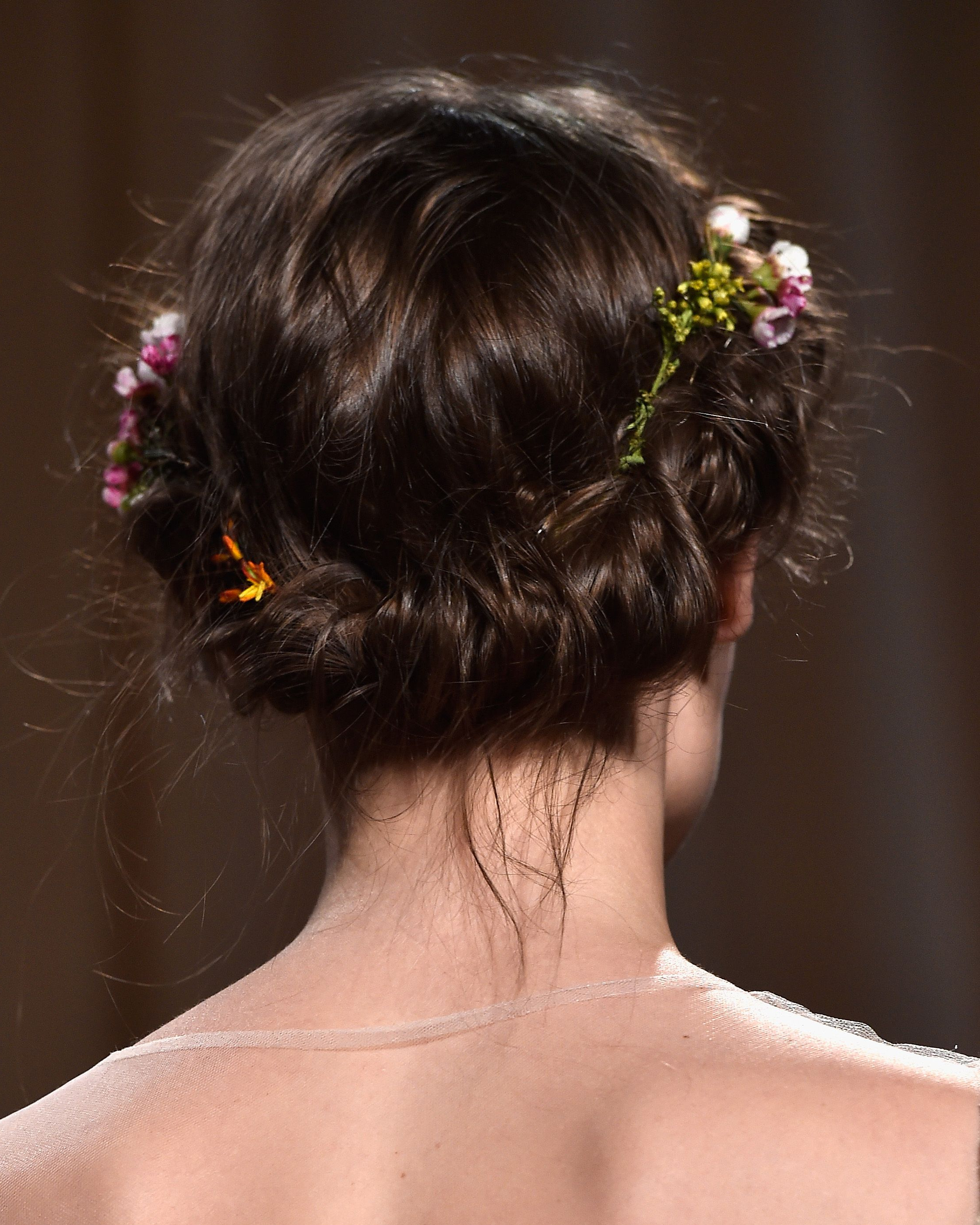 Wedding Hair Inspiration – Wedding Hairstyles For Brides & Bridesmaids Regarding Well Known Undone Low Bun Bridal Hairstyles With Floral Headband (Gallery 20 of 20)
