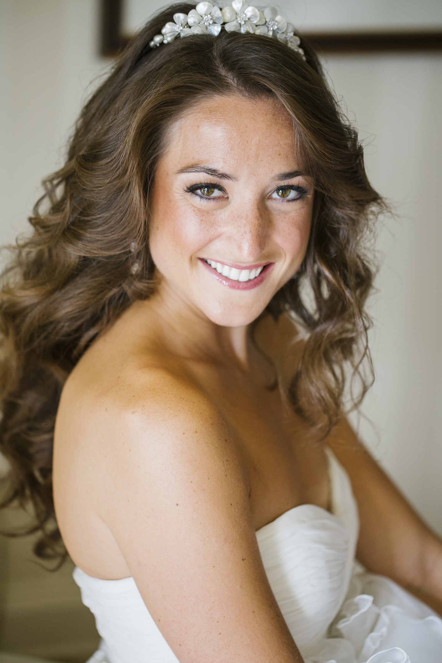 Wedding Hair: Pretty Hairstyles For Brides With Long Hair – Inside With Regard To Widely Used Long Curly Bridal Hairstyles With A Tiara (View 18 of 20)