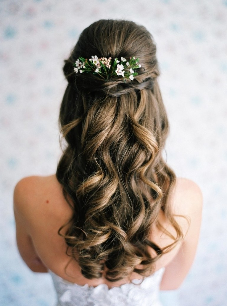 Wedding Hairstyles: 30 Down Hairstyles For Your Wedding (View 17 of 20)