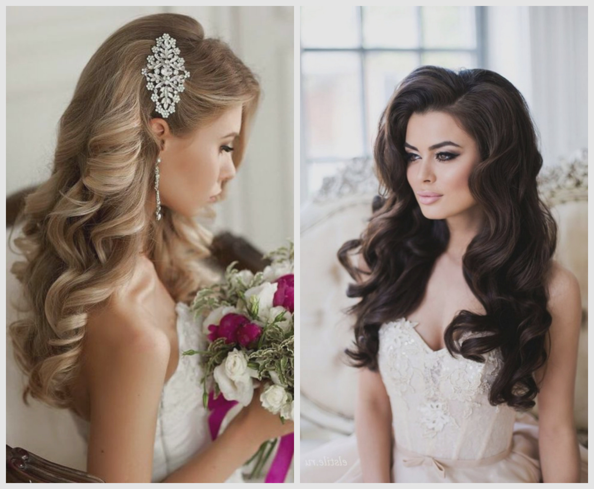 Wedding Hairstyles : Amazing Soft Curls Hairstyles For Weddings In Well Known Loose Curls Hairstyles For Wedding (View 18 of 20)